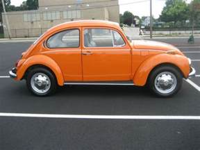 Used Cars For Sale In Orange Ma Purchase Used 1972 Vw Orange Beetle In Waltham