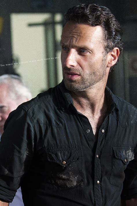 rick grimes haircut how to do rick grimes hairstyle andrew lincoln hot damn the walking dead pinterest