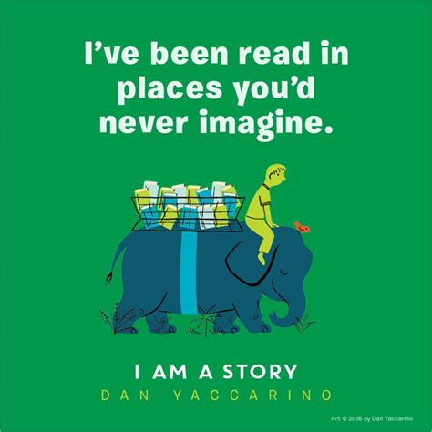 story i i am a story amazon ca dan yaccarino books