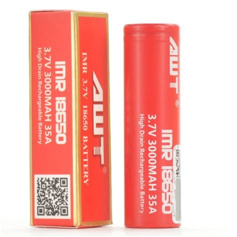 Awt Imr 18650 3400 Mah Battery Vape Baterai Vapor Batre Bateri Vaping awt imr 18650 flat top rechargeable battery li ion lithium cell