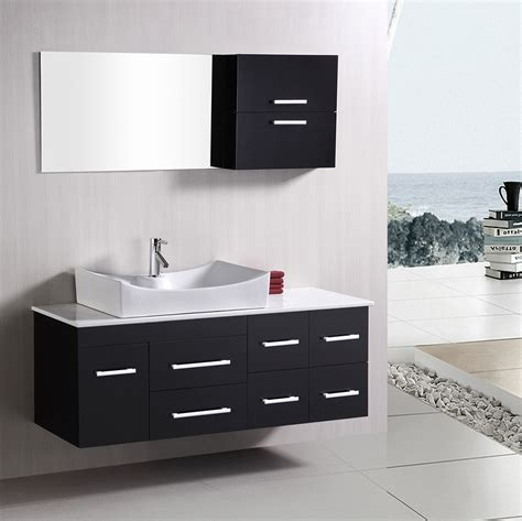 53 inch bathroom vanity spencer 53 quot single sink vanity set zuri furniture