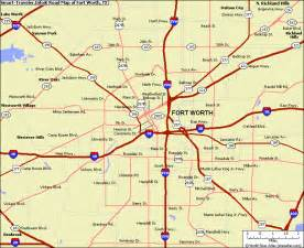 fort worth maps fort worth map