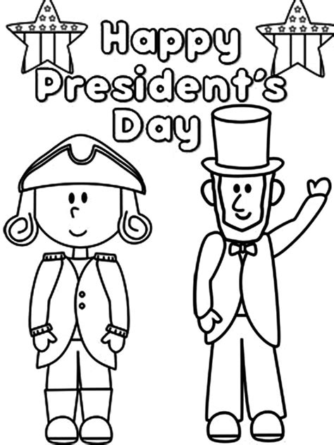 cheap happy presidents day coloring pages with us