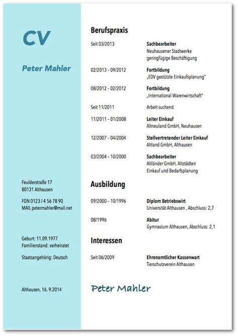 Lebenslauf Zeitangaben Lebenslauf Vorlagen 2018 Kostenlose Design Und Word Muster Karrierebibel De