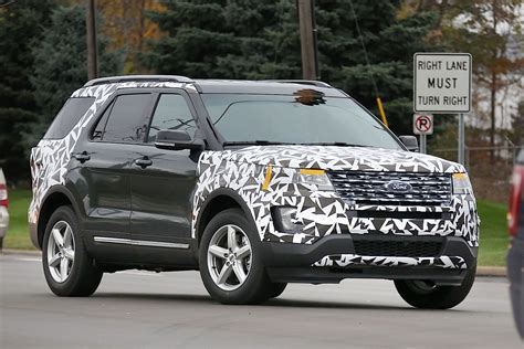 2016 ford explorer fog 2016 ford explorer spied partially camouflaged autoevolution