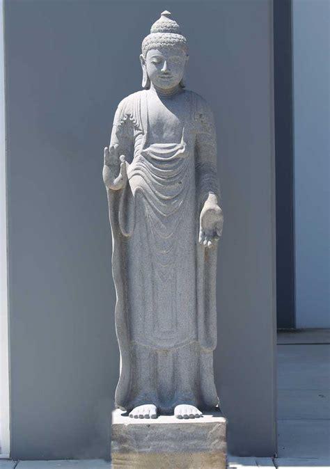 standing buddha statue beautiful scenery photography