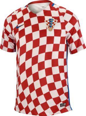 Kaos National Football Croatia 01 nike croatia home jersey 2016 croatia soccer jerseys