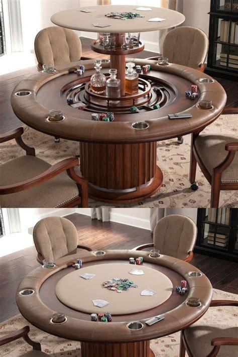 ultimate poker table bars  home man cave garage man