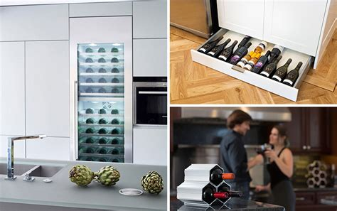 Kitchen Stuff Plus Return Policy by 5 Wine Storage Ideas For The Kitchen Archiweb 3 0