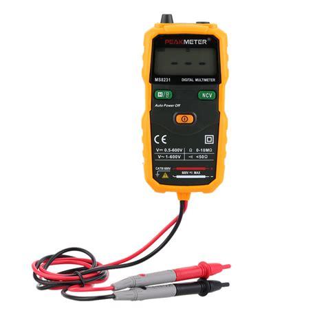 Multitester Mini voltage indicator digital multimeter mini auto ms8231