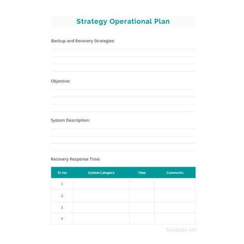 simple plan template 20 operational plan templates doc pdf free premium