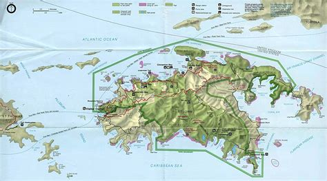 virgin islands maps perry castaneda map collection
