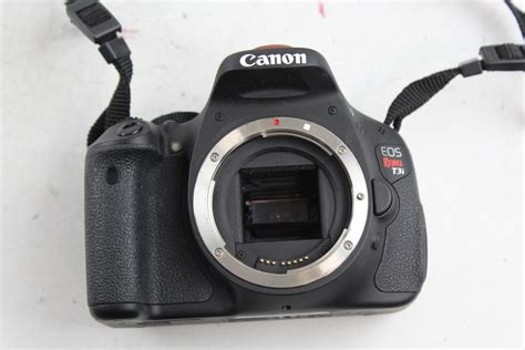 canon eos rebel t3i dslr canon eos rebel t3i dslr property room