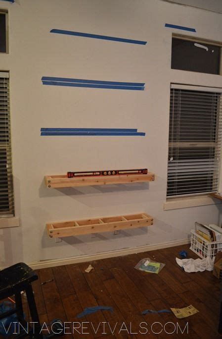 how to build floating shelves woodworking projects plans