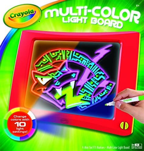 crayola light up board crayola multi color light board art tools electronic