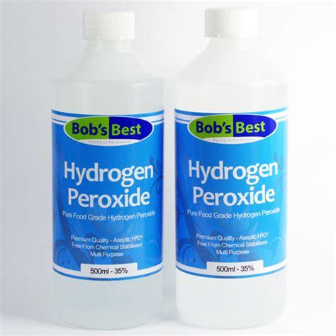 Hydrogen Peroxide Detox by 01 Food Grade Hydrogen Peroxide Food Grade Hydrogen