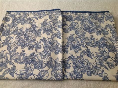 french country curtains waverly waverly french country curtains blue ivory floral 50