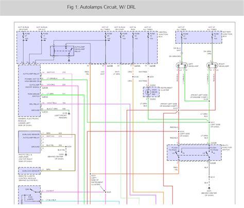 headlight wiring diagram 2000 taurus dolgular