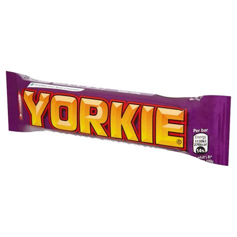 yorkie biscuit yorkie raisin and biscuit chocolate bar 53g groceries tesco groceries