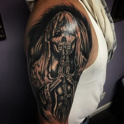 grim reaper tattoo 75 creative grim reaper tattoos