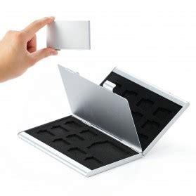 Kotak Metal Penyimpan Sd Micro Sd 8 Slot 1 kotak sim card metal untuk 2 standard micro nano sim eject black jakartanotebook