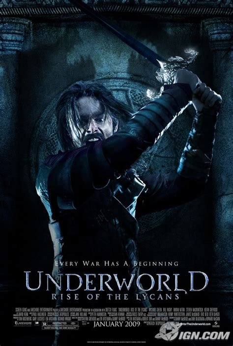 pemain film underworld rise of the lycans lucian dominates third underworld poster shock till you drop