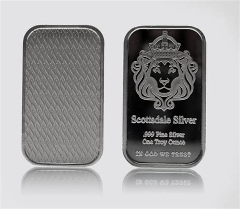1 Oz Silver Bars Cheap by Scottsdale 999 Silver 1 Oz Bar Coin Bullion Going Cheap