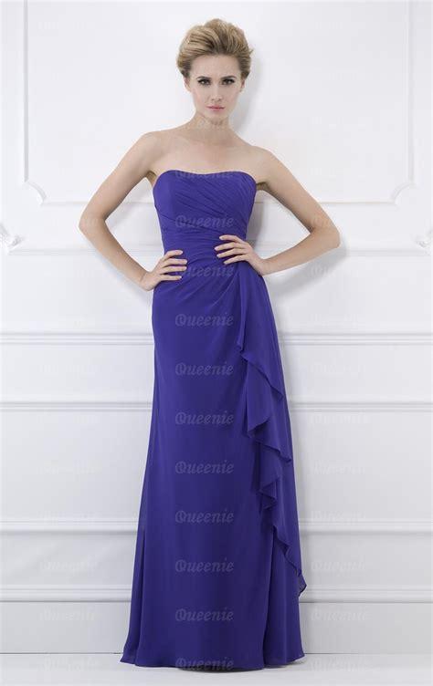 Handmade Bridesmaid Dresses Uk - custom made chiffon blue bridesmaid dress bnnbc0018