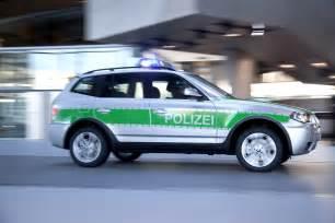 bavarian cops testing bmw x3 car