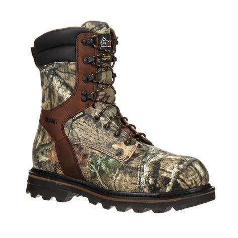 insulated mens work boots rocky cornstalker composite toe tex 174 waterproof