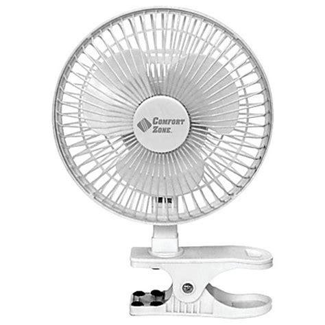 comfort zone desk fan comfort zone cz6c 6 inch clip on desk fan white by office
