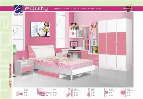 Lemari Pakaian Equity siantano kamar set anak type equity pink kemenangan
