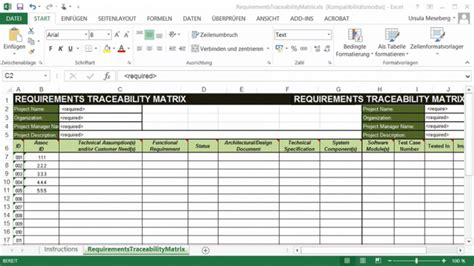 requirements traceability matrix template traceability matrix template wordscrawl