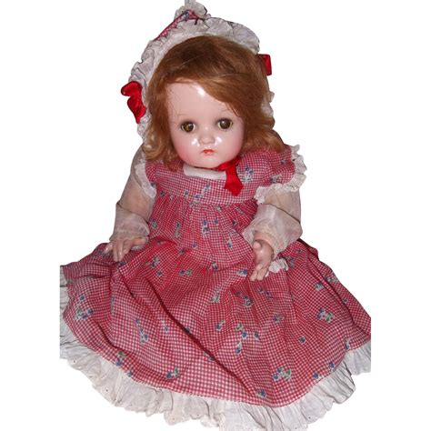 composition doll madame baby mcguffey composition doll from