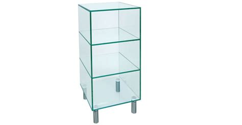 Glass File Cabinet Glass Home Office Furniture Glass Desks