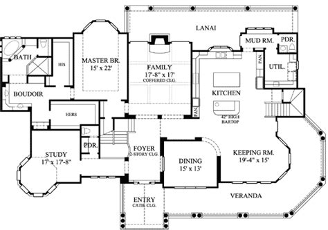 victorian floor plan victorian with 3 car detached garage 67088gl 1st floor