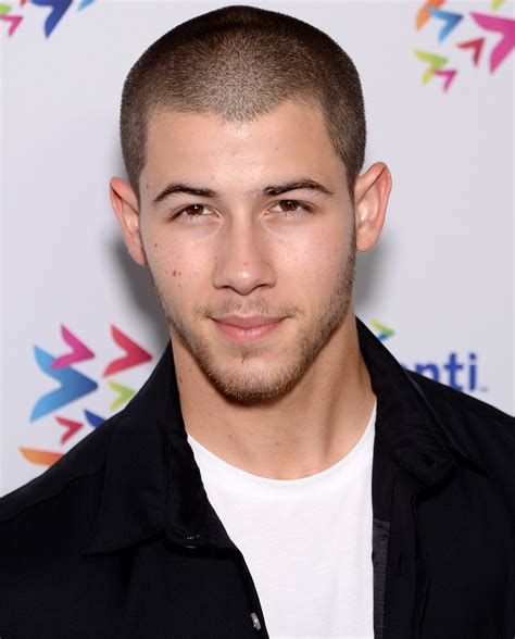 nick jonas nick jonas hair singer rocks blue hair in a new photo