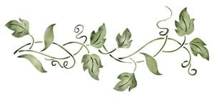 printable stencils vine the gallery for gt ivy stencil template