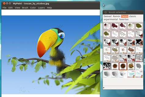 painting free software a professional digital painting software for ubuntu linux
