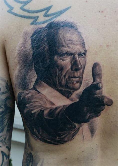 watercolor tattoo torino gran torino clint eastwood