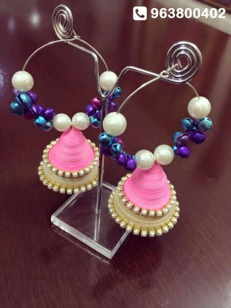 Handmade Paper Jewellery - handmade waterproof paper jewellery by anukunj