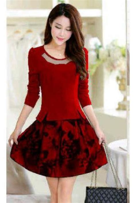 Baju Busana trend model baju dan busana natal terbaru fashion style