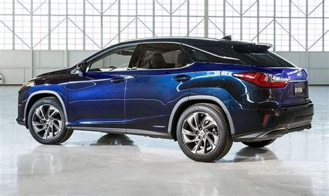 2016 Lexus Rx 350 Blue Hd Wallpapers Hd Backgrounds