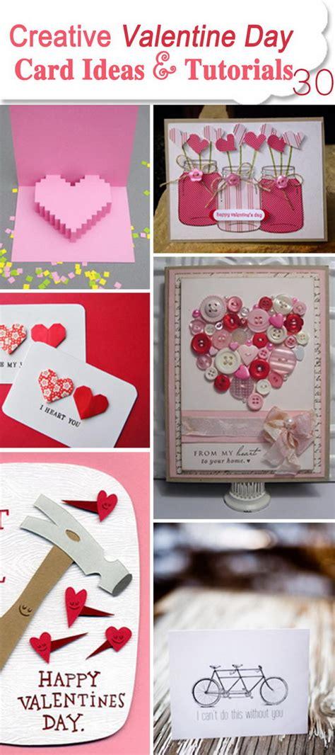 creative card ideas for valentines day 30 creative day card ideas tutorials hative