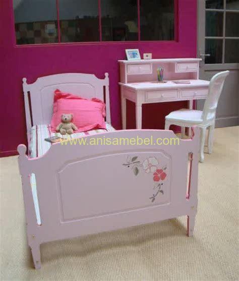 Tempat Tidur Dan Meja Belajar tempat tidur dan meja belajar anak anisa mebel jepara