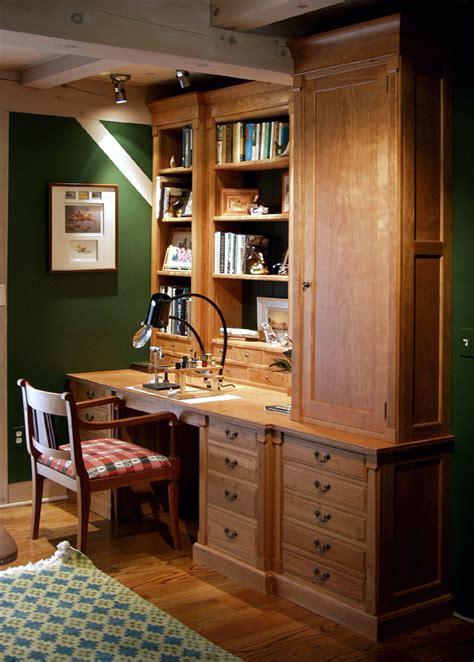 custom cherry library dorset custom furniture