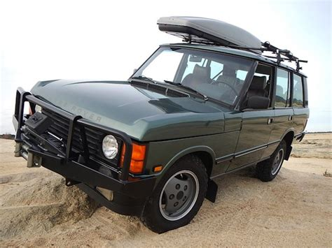 green range rover classic bat exclusive the pilot s 1 owner 1988 range rover