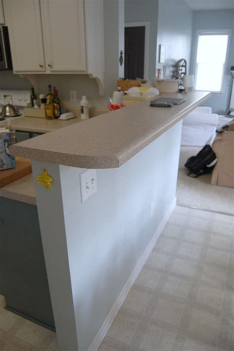 how wide is a bar top living with the kitchen peninsula 2 little supeheroes2