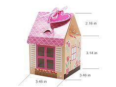 printable house shaped box best photos of house shaped box template house shaped