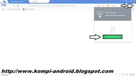 cara membuat hotspot di laptop dengan uc browser cara membuat hostpot di laptop dengan uc browser kompi
